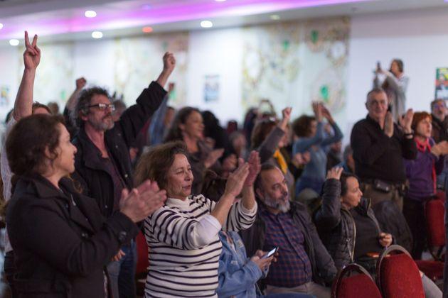Un meeting de la liste Unir! pour les municipales à Marseille dans les 13ème et 14ème...