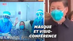 Xi Jinping pour la première fois à Wuhan, épicentre de l'épidémie de