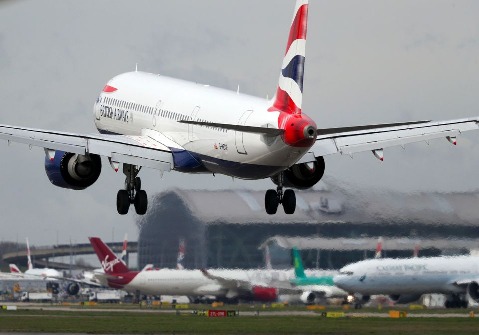 BA grounded all flights to and from Italy on