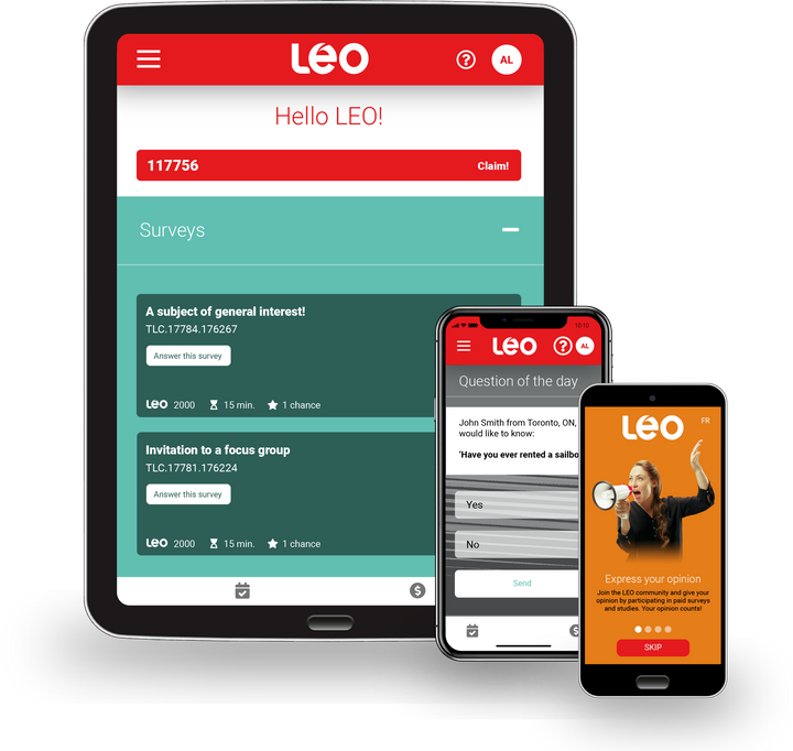 Welcome to the LEO app!
