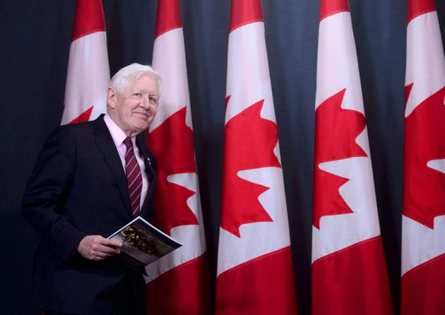 Canadian special envoy Bob Rae releases a report on the humanitarian and security crisis in Myanmar at...