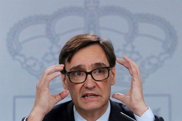 El ministro de Sanidad, Salvador