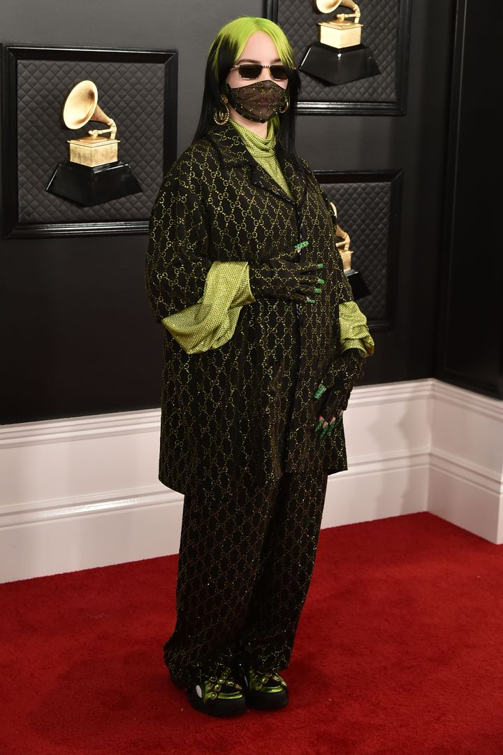 Eilish attends the 62nd Annual Grammy Awards in January.