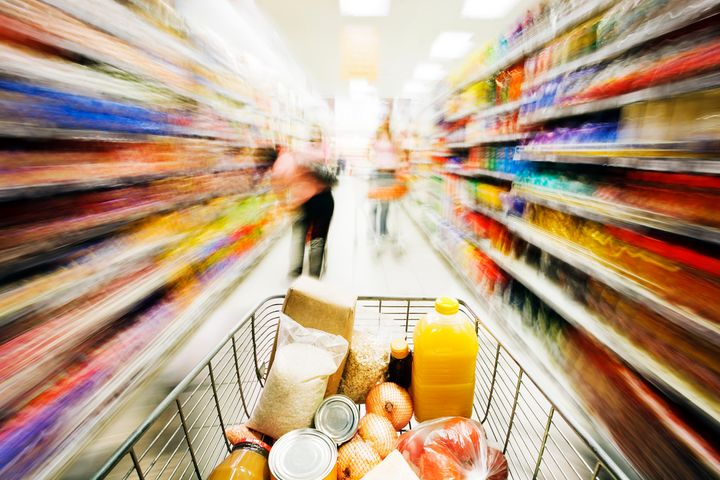 The average grocery store offers about 40,000 different products, according to supermarket industry expert Phil Lempert.