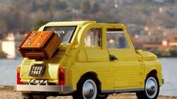 Το θρυλικό πεντακοσαράκι της Fiat κυκλοφορεί στον δρόμο από την