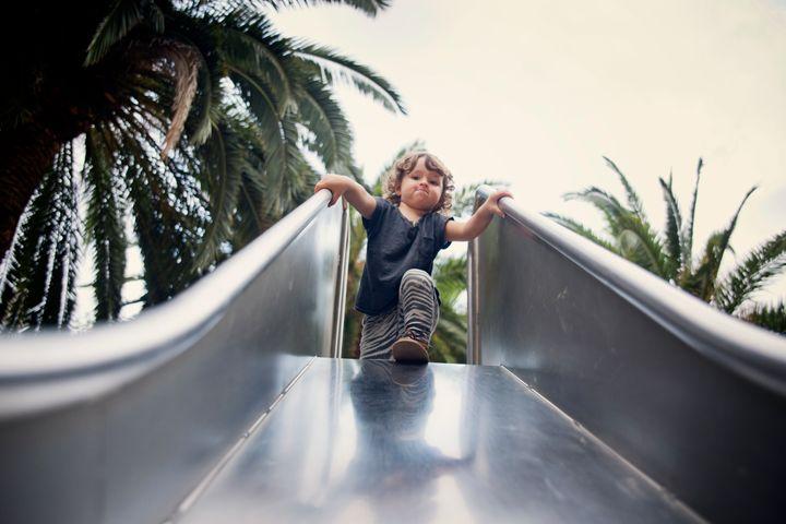 Los niños más lanzados de los parques.