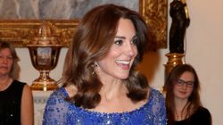 Kate Middleton Dazzles In Recycled Gown After Reunion With Harry,