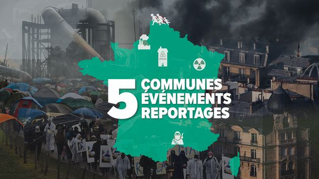 Avant les municipales, Le HuffPost s'est rendu dans 5 communes marquées par l'actualité durant la précédente