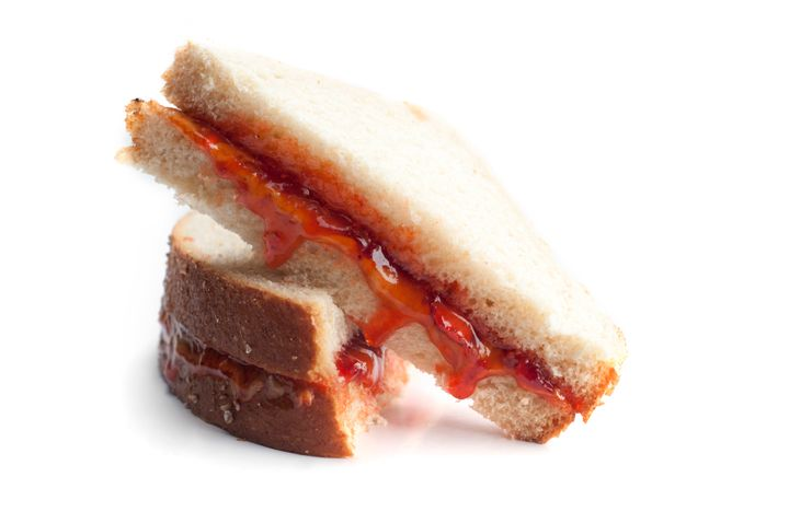 Slicing into a PB&J without crushing it is a major challenge.