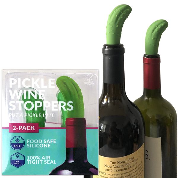 Does your mom's wine goes bad before she can finish the bottle? Well, that's quite a pickle. So, fittingly, why not give her