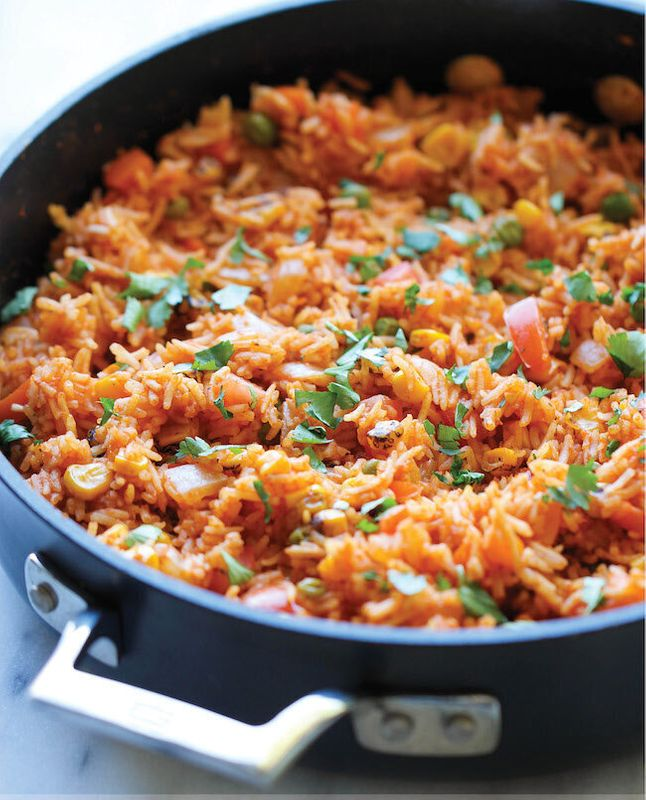 Get the Mexican Rice recipe from Damn Delicious