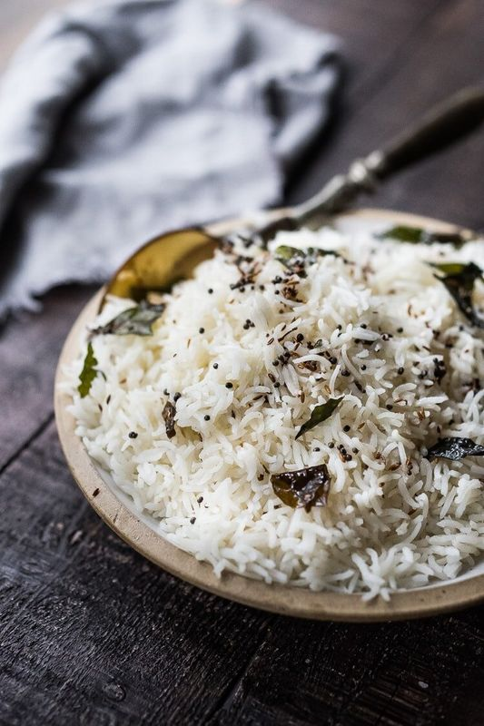 Get the Fluffy Basmati Rice recipe from Feasting at Home