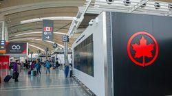 Air Canada suspend ses vols vers