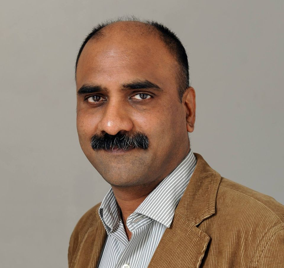 Author and journalist Manoj