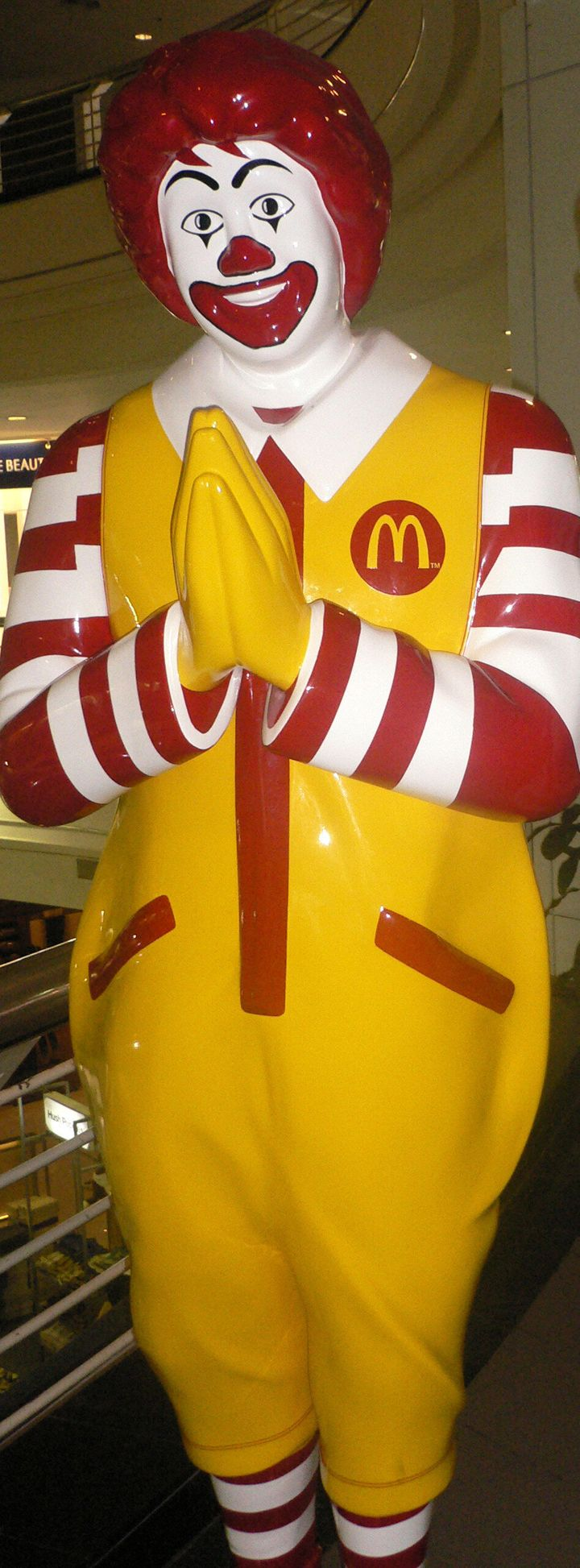 Description 1 Ronald McDonald in Thailand   Source   Author Ru K   Date   Permission   other_versions Licensing: cc-by-sa-3.0   GFDL year ...