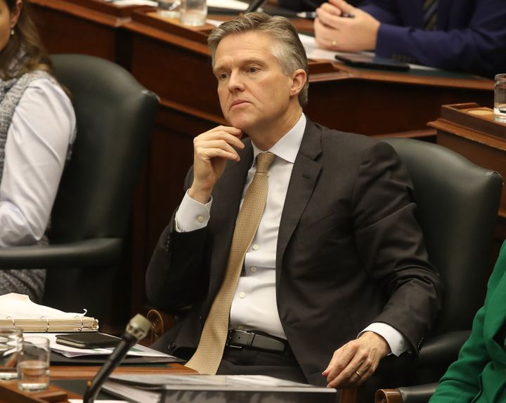 Ontario Finance Minister Rod Phillips during question period in the Ontario legislature in November 2019.