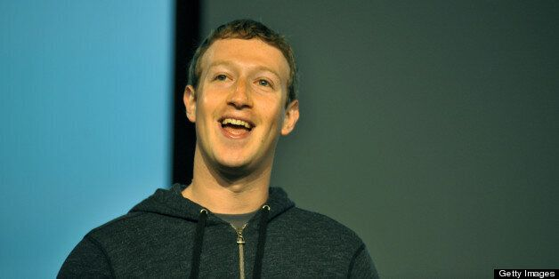 Facebook CEO Mark Zuckerberg speaks during a media event at Facebook's headquarters in Menlo Park, California on March 7, 201