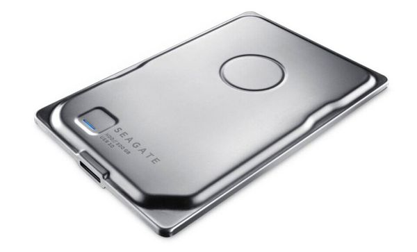 The world's slimmest portable hard drive at just 7mm thickness, the drive has 500 GB of storage and supports USB 3.0.
