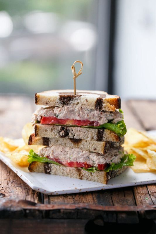 Get Taylor's Best Tuna Salad Sandwich recipe from Love and Olive Oil