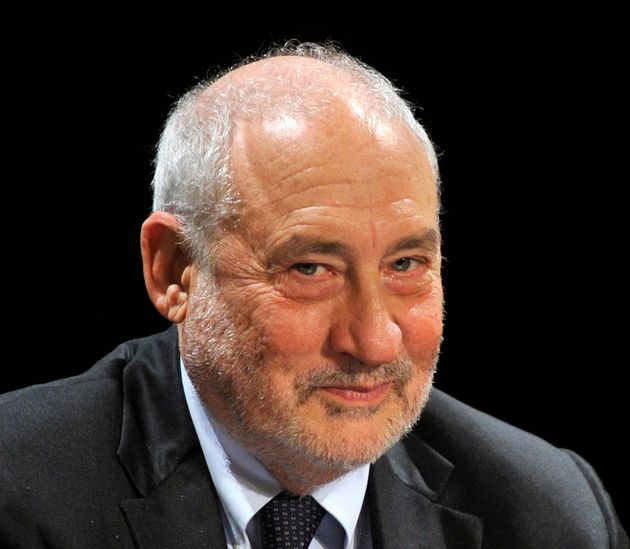 Nobel Prize winner American economist and a professor at Columbia University Joseph E. Stiglitz during...