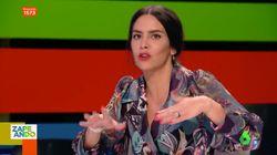 Cristina Pedroche desvela en 'Zapeando' cómo empezó su relación con Dabiz