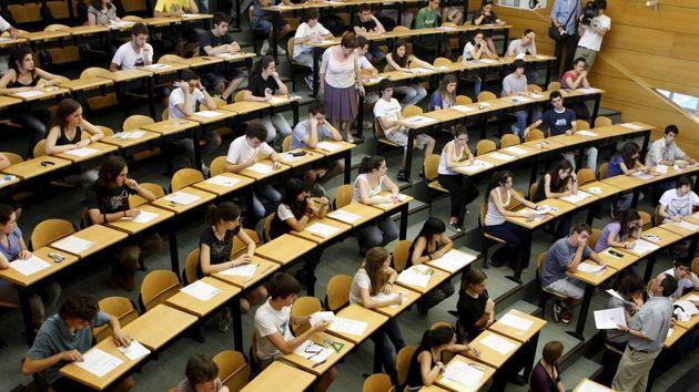Un aula de una Universidad