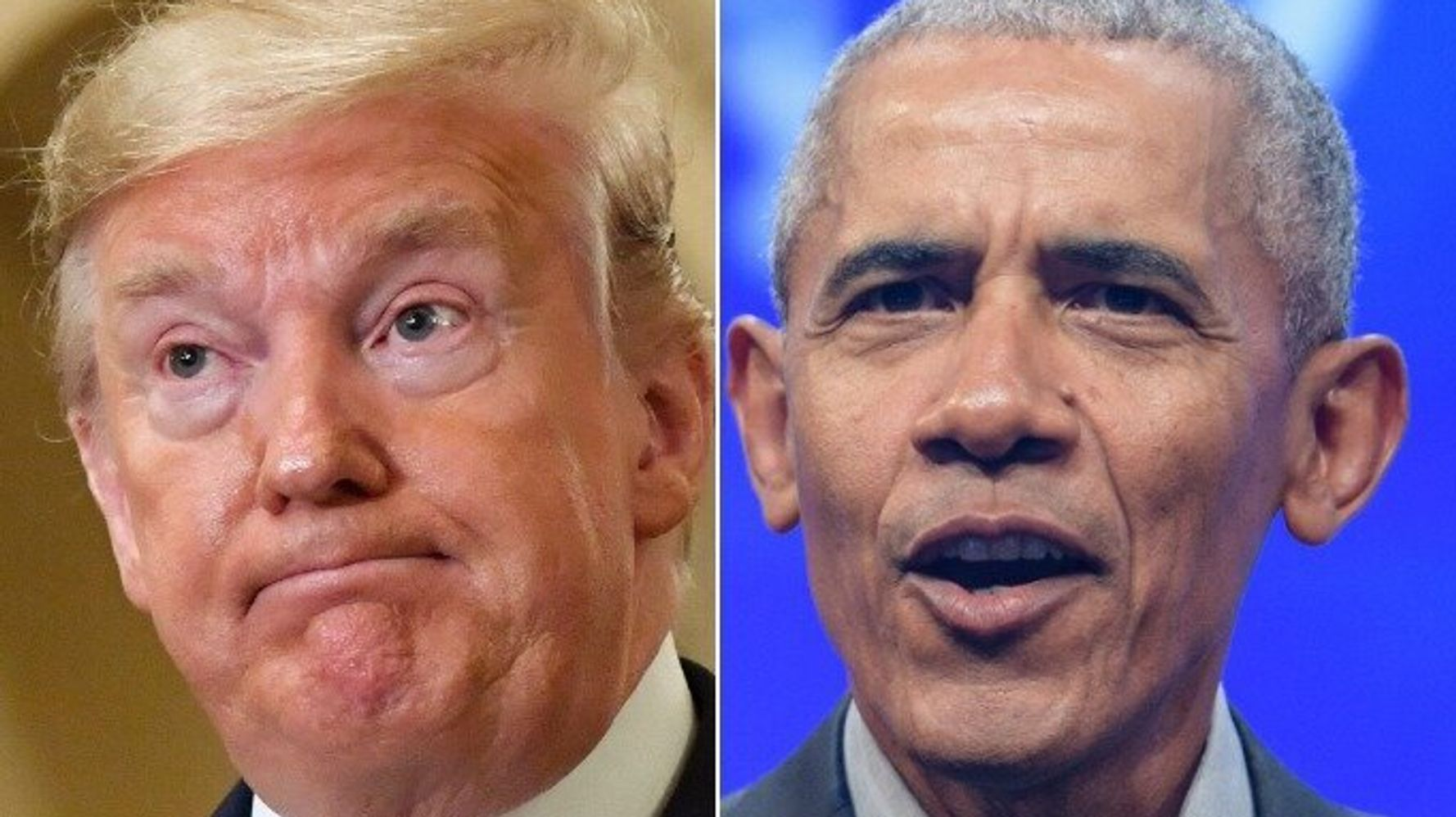 Trump's Old Attack On Obama Looks Really Awkward In Light Of New Allegations