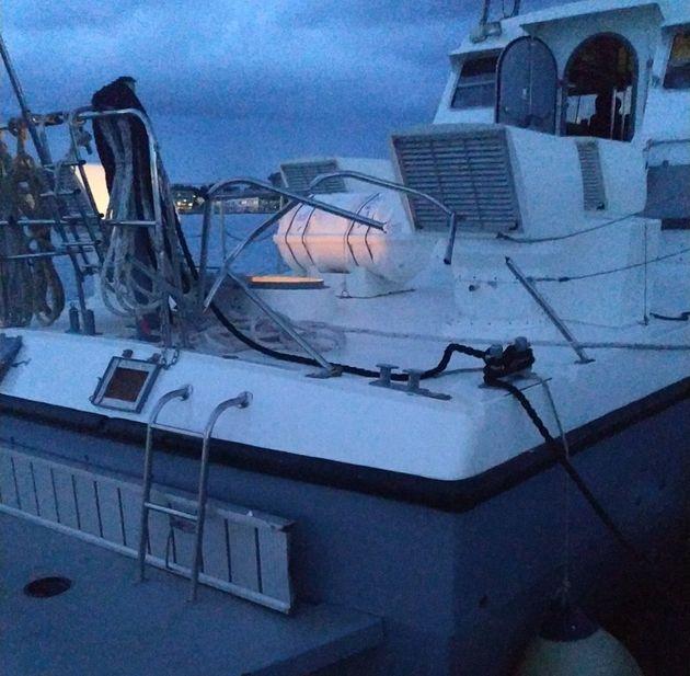 Τουρκική ακταιωρός εμβόλισε σκάφος του Λιμενικού ανοιχτά της