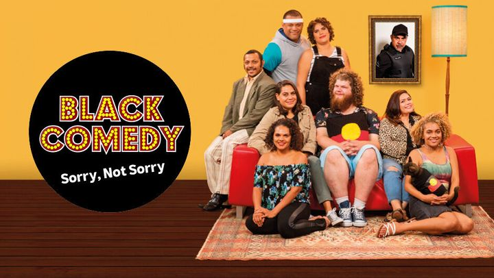 ABC's Black Comedy ends on Wednesday.