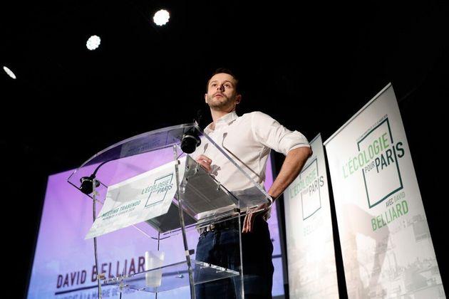 Le parti écologiste - ici son candidat à Paris David Belliard - accuse les chaines de