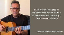 'Codo con codo': la canción de Jorge Drexler para animar a extremar la higiene frente el