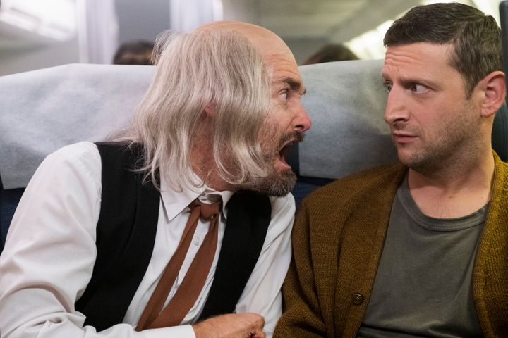 "Will Forte and Tim Robinson in ""I Think You Should Leave With Tim Robinson."""