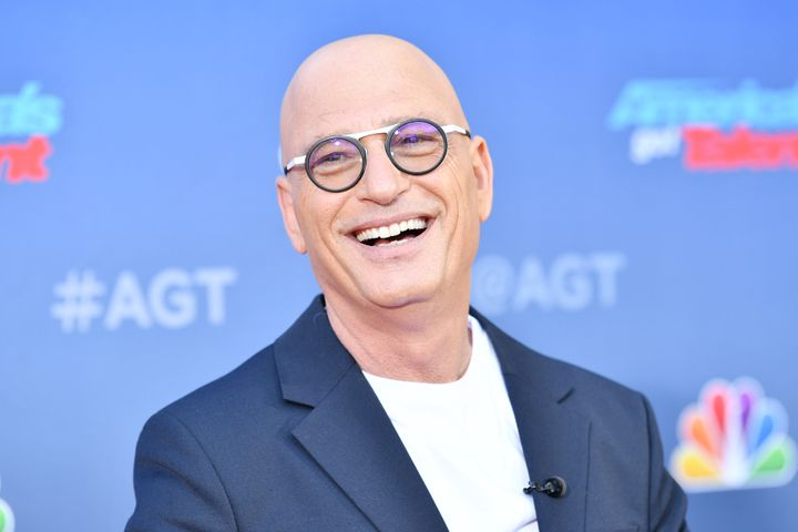 """Howie Mandel attends the """"America's Got Talent"""" Season 15 kickoff at Pasadena Civic Auditorium on March 4."""