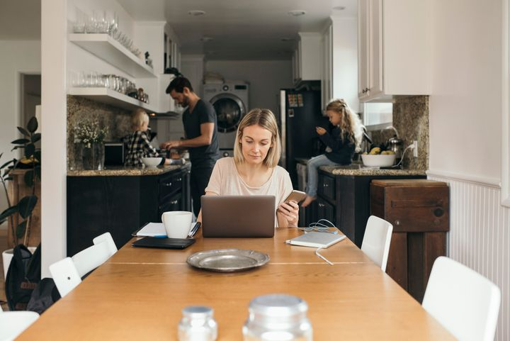 Because of the COVID-19 outbreak, more and more offices are encouraging employees to work from home.