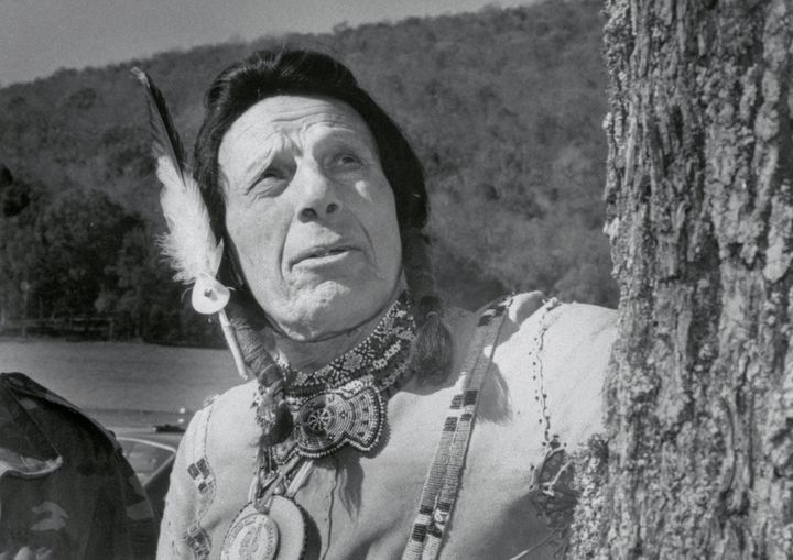 Iron Eyes Cody, whose depictions of Native Americans were often muted,was my model of a stoic Indian.