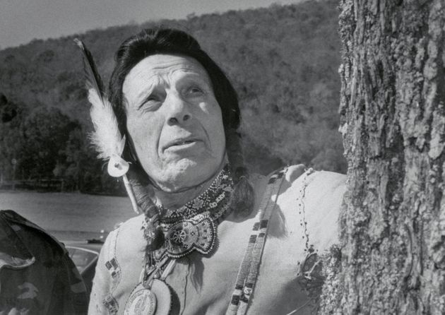Iron Eyes Cody, whose depictions of Native Americans were often muted,was my model of a stoic