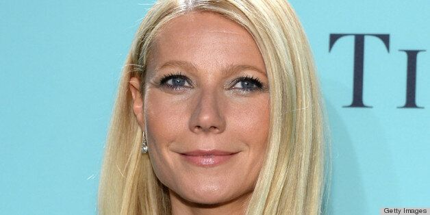 NEW YORK, NY - APRIL 18: Actress Gwyneth Paltrow is wearing Diamonds from the Tiffany & Co. 2013 Blue Book Collection as she attends the Tiffany & Co. Blue Book Ball at Rockefeller Center on April 18, 2013 in New York City. (Photo by Dimitrios Kambouris/Getty Images)