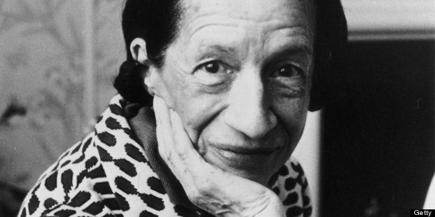 4th June 1980:  Diana Vreeland (1903 - 1989), French-born editor of American Vogue magazine up to 1971.  (Photo by Evening Standard/Getty Images)