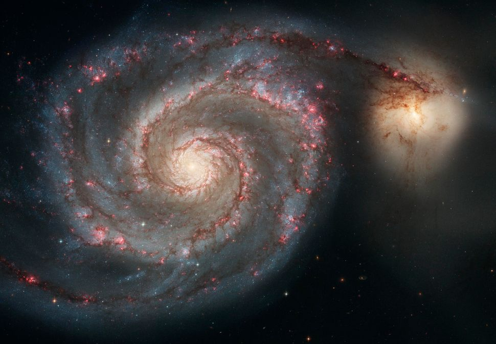 2005: Whirlpool Galaxy (M51)  Credit: NASA, ESA, S. Beckwith (STScI), and The Hubble Heritage Team (STScI/AURA) <br> <br> (Re