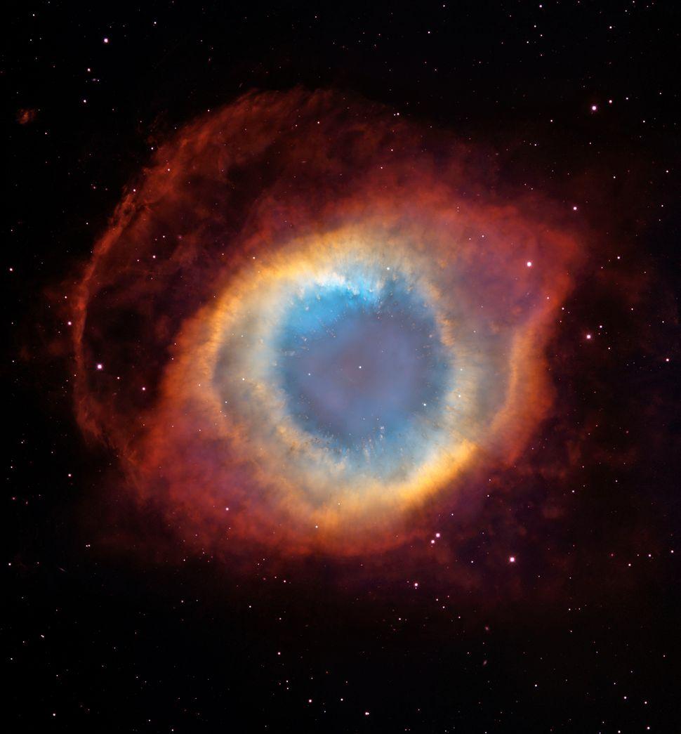 2004: Helix Nebula  Credit: NASA, ESA, C.R. O'Dell (Vanderbilt University), M. Meixner and P. McCullough (STScI) <br> <br> (R