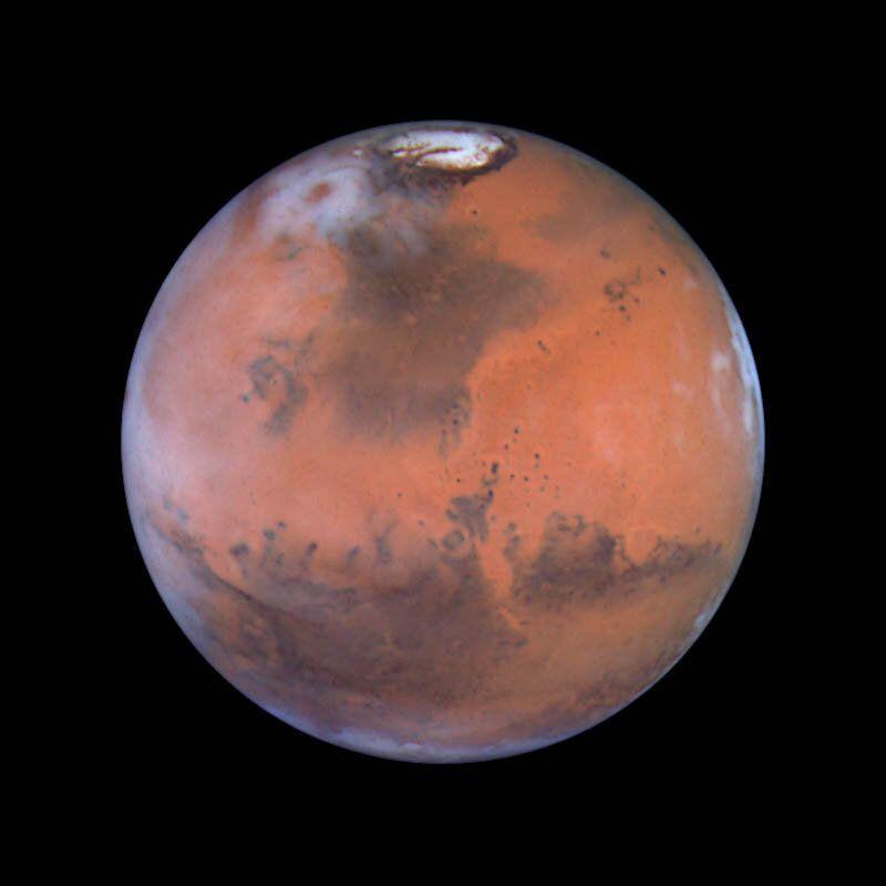 1999: Mars  Credit: Steve Lee (University of Colorado), Jim Bell (Cornell University), Mike Wolff (Space Science Institute),