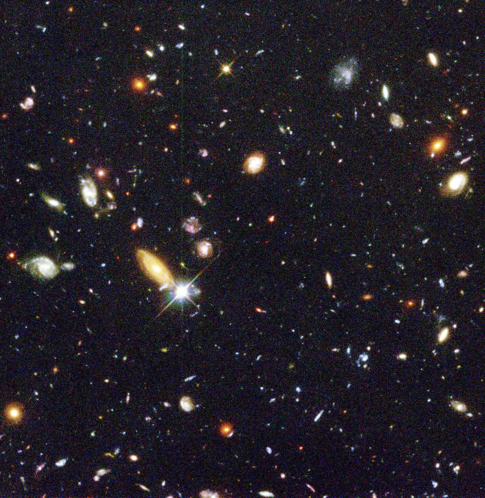 1996: Hubble Deep Field  Credit: Robert Williams and the Hubble Deep Field Team (STScI) and NASA <br> <br> (Read about the im