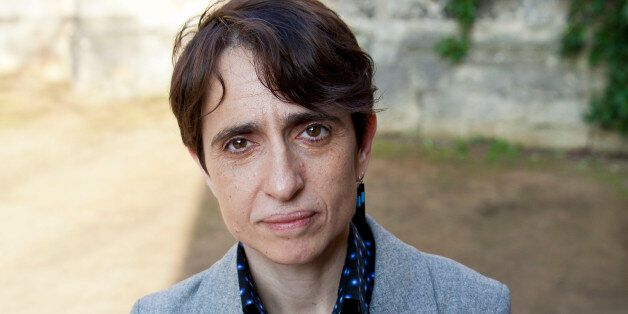 OXFORD, UNITED KINGDOM - MARCH 24: Masha Gessen, writer and journalistposes for a portrait at the Oxford Literary Festival on
