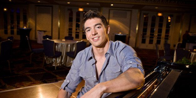 CHICAGO, IL - AUGUST 09:  Steve Grand at Hilton Chicago to kick off North Halsted Market Days. The event was sponsored by Hil