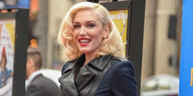 Gwen Stefani arrives at the Los Angeles Premiere of Paddington at the TCL Chinese Theatre on Saturday, Jan 10, 2015, in Los A