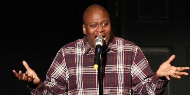 NEW YORK, NY - NOVEMBER 09:  Tituss Burgess performing in 'Best in Shows' A benefit for the Humane Society of New York at New