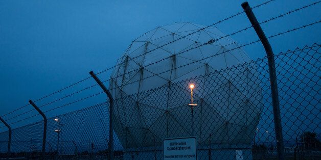 MUNICH, GERMANY - JUNE 23:  Radomes at a facility called the Bad Aibling Station once used by U.S. National Security Agency (