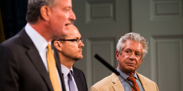 NEW YORK, NY  - JULY 17:  Richard Emery, one of four personnel appointments announced by New York City Mayor Bill de Blasio,