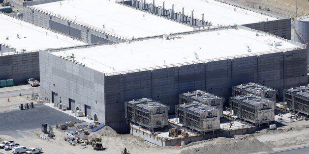FILE - This June 6, 2013, file photo, shows the National Security Agency's Utah Data Center in Bluffdale, Utah. A Utah lawmak