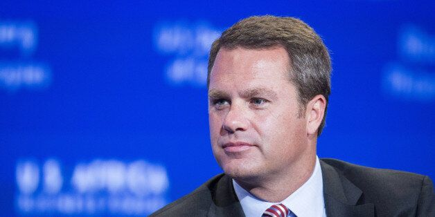 Doug McMillon, president and chief executive officer of Wal-Mart Stores Inc., listens during the US-Africa Business Forum in